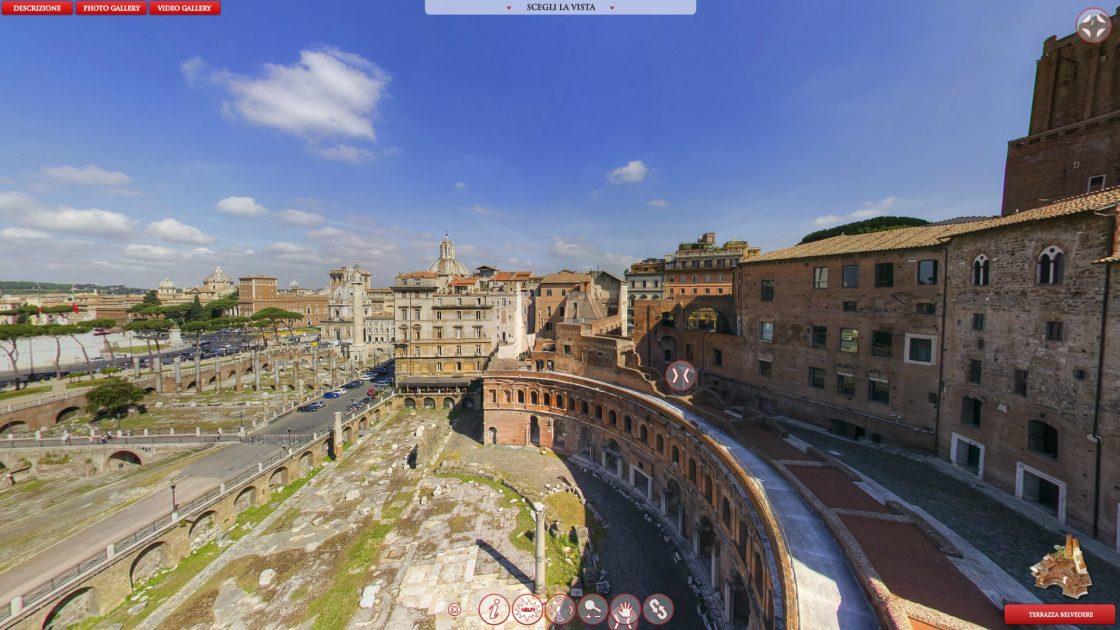 Mercati di Traiano Immersive
