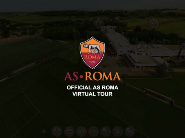 AS Roma virtual tour