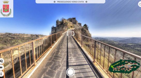 Virtual Tour Civita di Bagnoregio