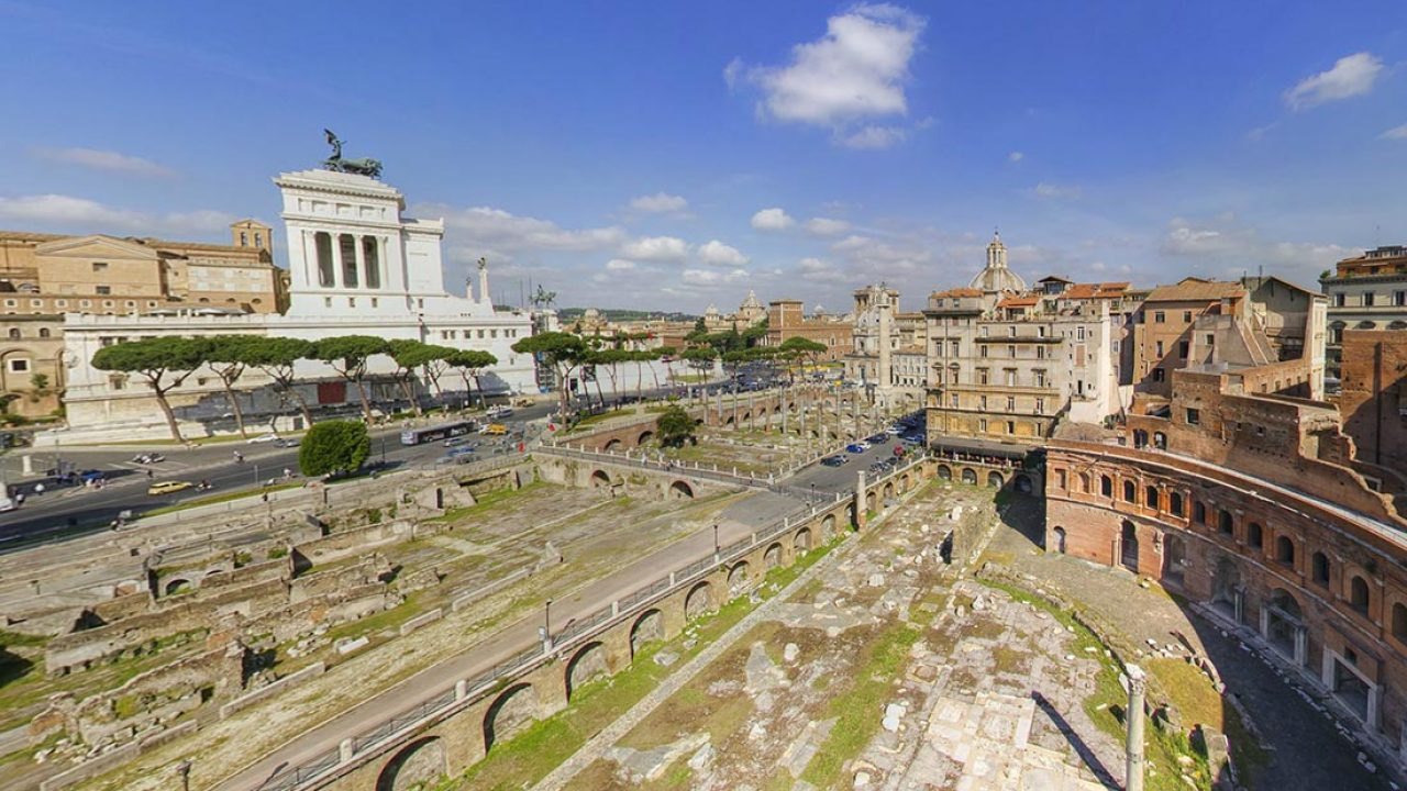 Virtual Tour Mercati di Traiano