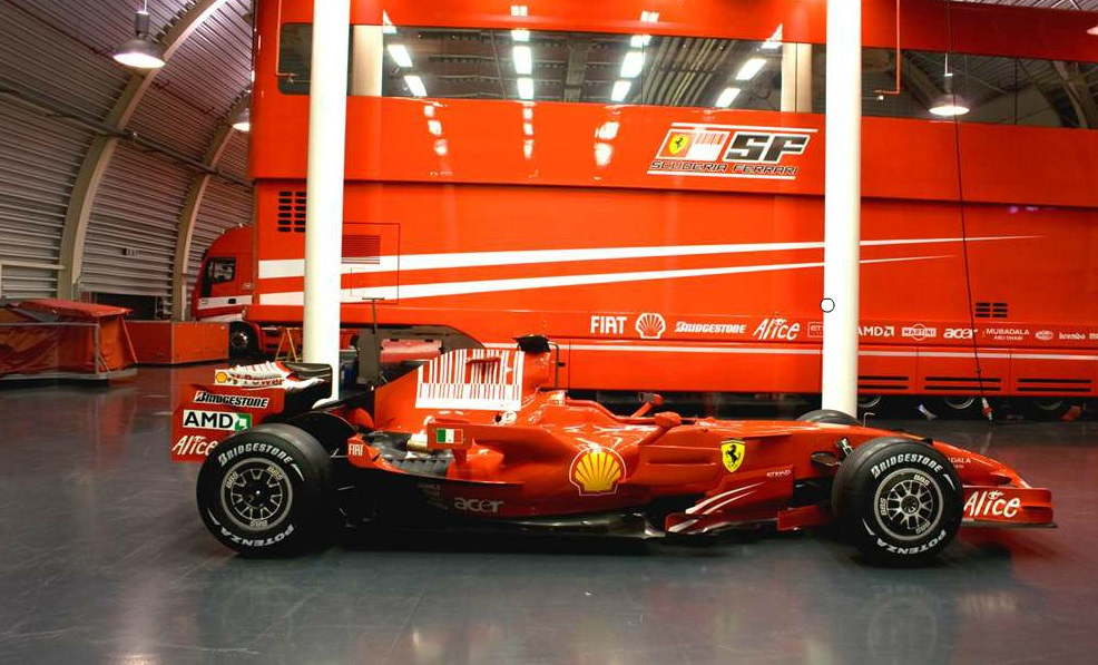 F1 Virtual Tour - Immersive